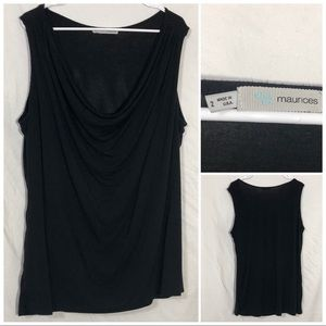 Maurices cowl neck tank size 2